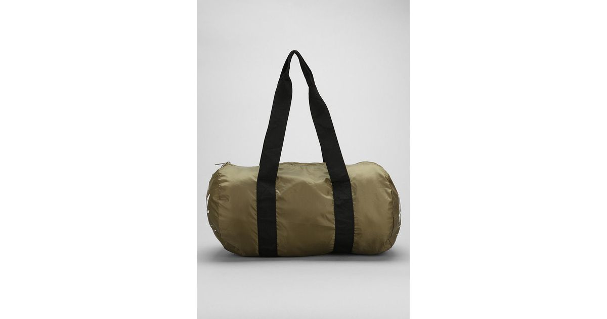 Lyst - Urban Outfitters Herschel Supply Co Packable Duffle Bag in Natural  for Men 4b32eea5d7