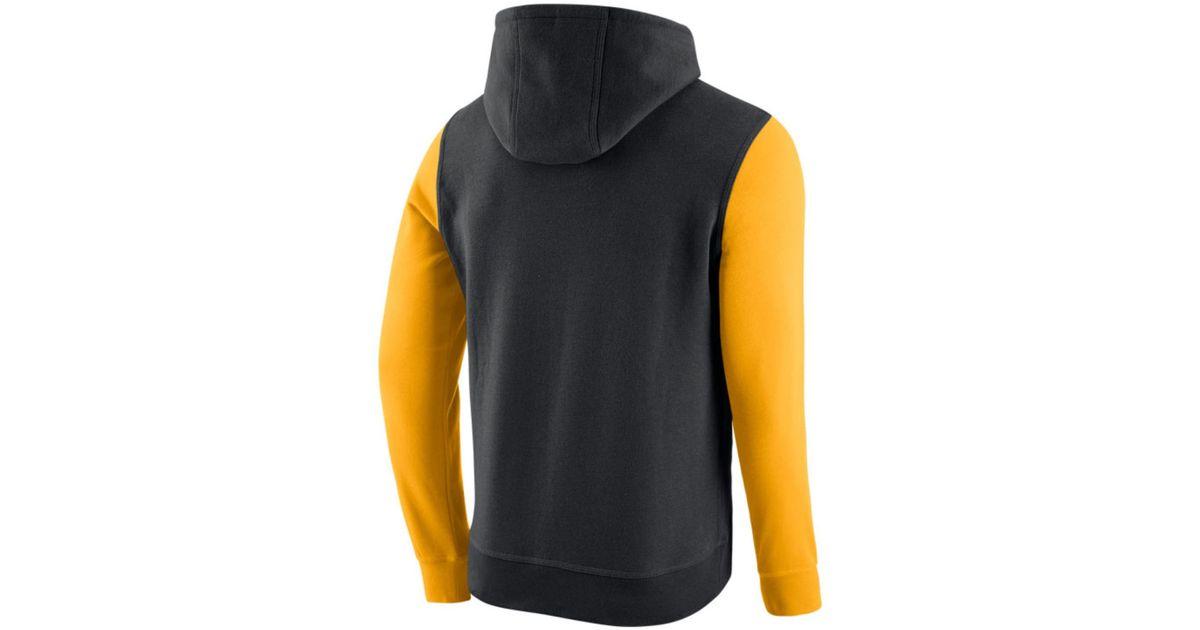 huge discount e2146 0f547 Nike - Black Men's Pittsburgh Pirates Pullover Fleece Hoodie for Men - Lyst