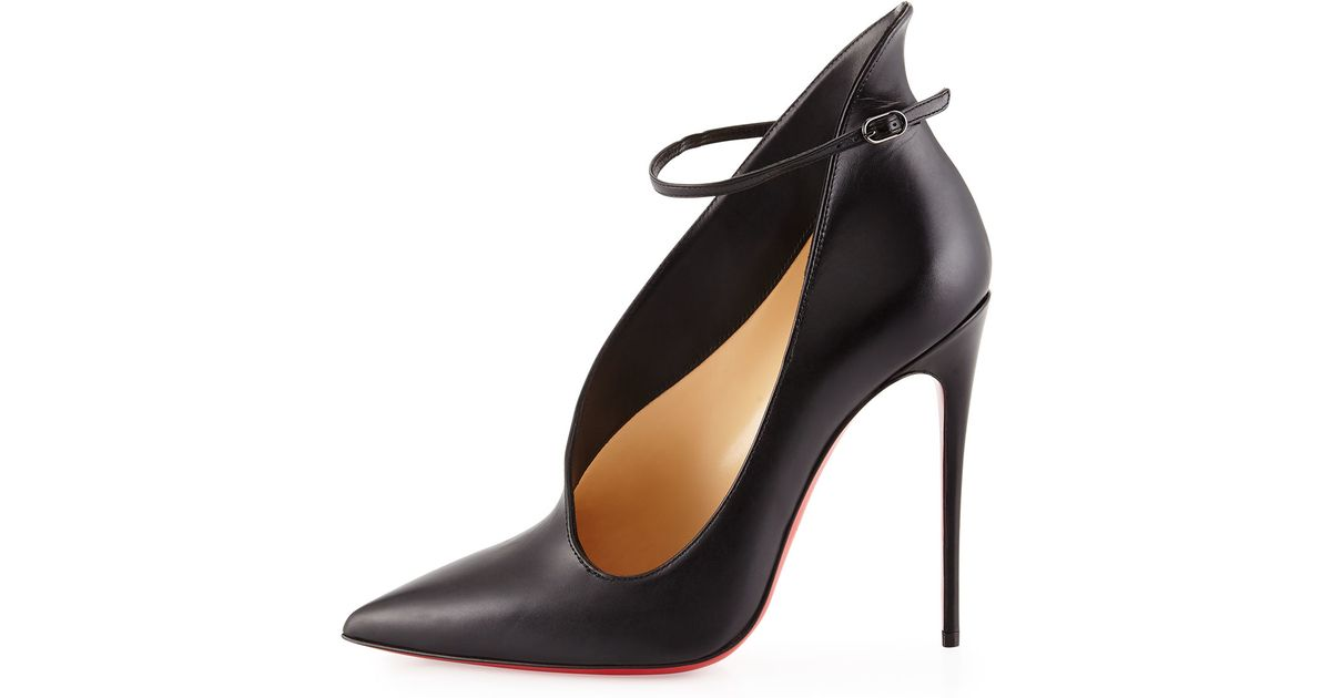 2208c0be5beb Lyst - Christian Louboutin Vampydoly Asymmetric Pumps in Black
