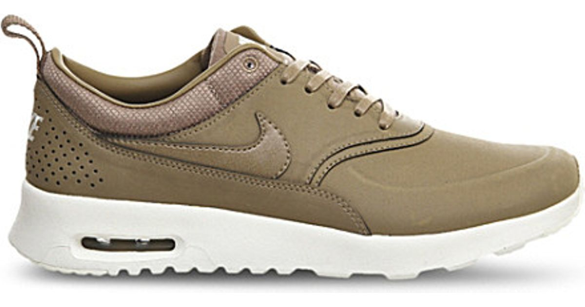 Nike Desert Leather Air Max Thea Trainers - For Women in Natural - Lyst a07016fe89