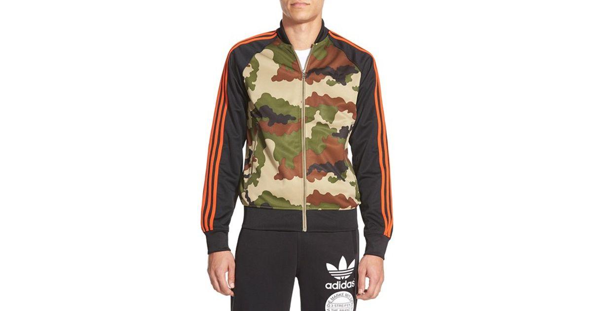 Camouflage jacket adidas