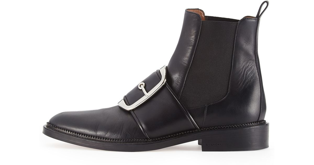 Givenchy Leather Strap Boots pUkmV