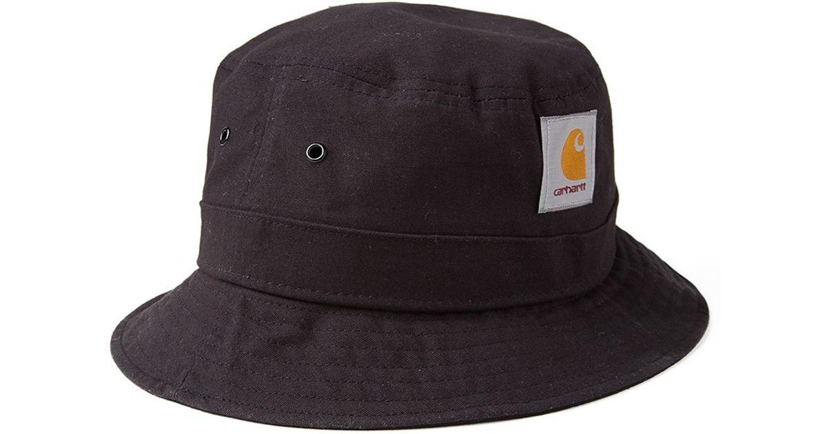Carhartt WIP Watch Bucket Hat - Black in Black for Men - Lyst 81ea3db3040