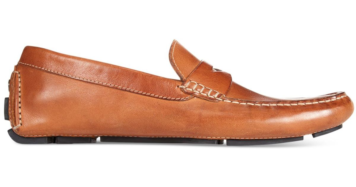 93abdac598b Lyst - Cole Haan Howland Penny Loafers in Brown for Men