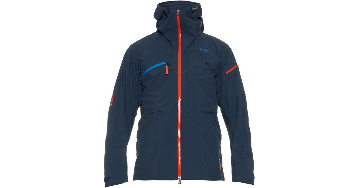 2b71596c8d Peak performance heli alpine technical ski jacket in blue for men lyst jpeg  1200x630 Peak performance