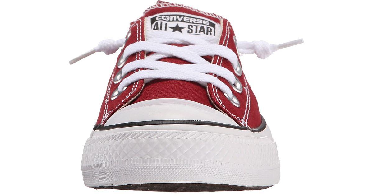 d6d6270cc1cc Lyst - Converse Chuck Taylor® All Star® Fashion Basics Shoreline in Red
