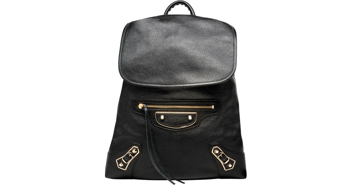 41114fcd676e06 Balenciaga Classic Metallic Edge Traveler S in Black - Lyst