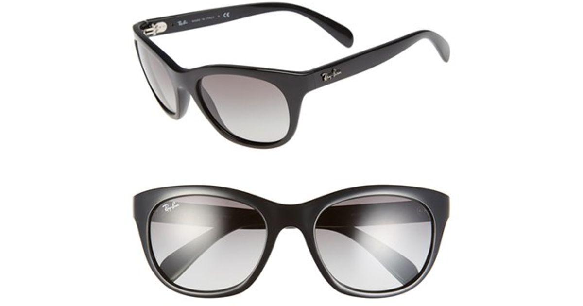 45a90ccfec Lyst - Ray-Ban  highstreet  56mm Sunglasses in Black