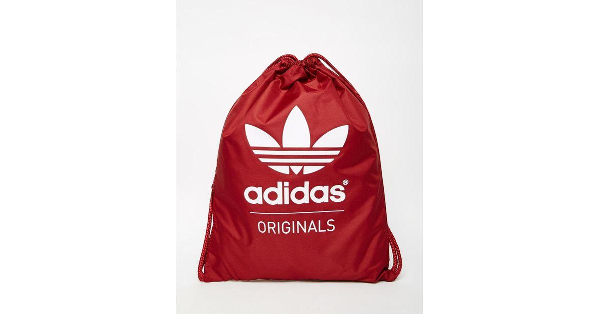 Adidas Originals Gym Bag Ab2759 In Red For Men