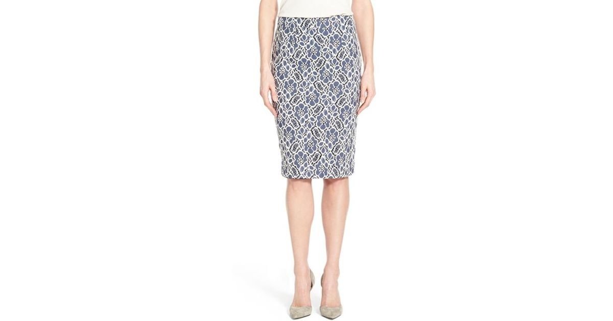 Find blue lace pencil skirt at ShopStyle. Shop the latest collection of blue lace pencil skirt from the most popular stores - all in one place.