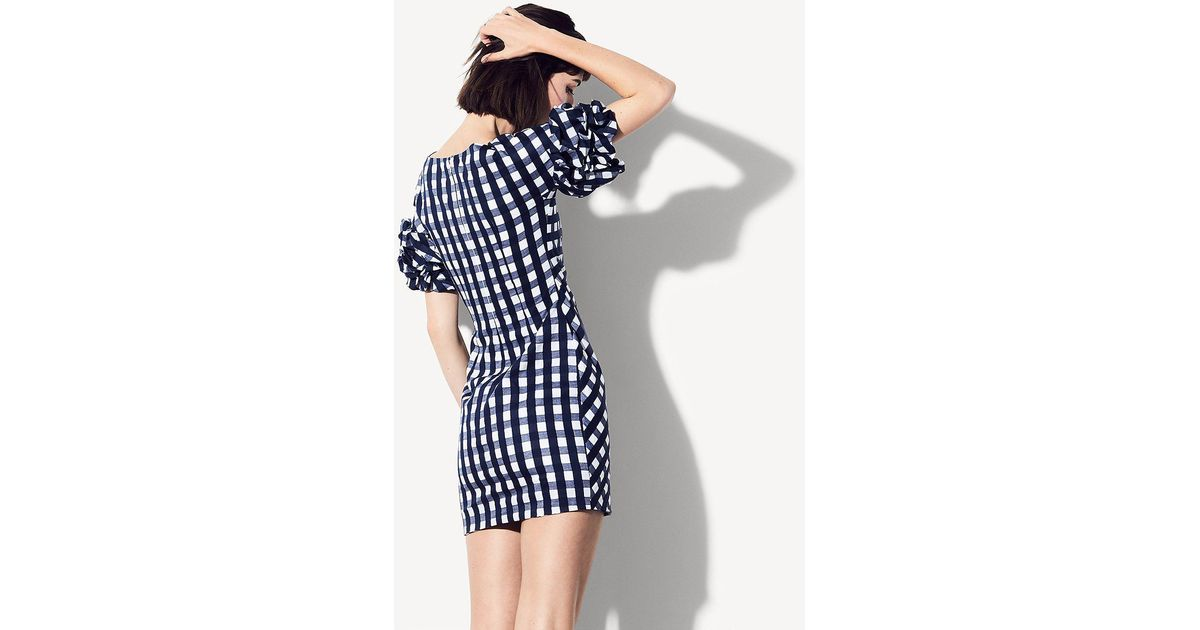 1e960ea56f4 Fame   Partners The Russo Dress in Blue - Save 3% - Lyst