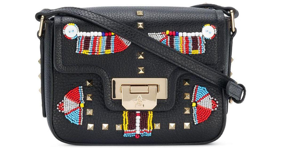 Newest Cheap Price Amazing Price etno embellished Salena bag - Black Ash HCKl7cV