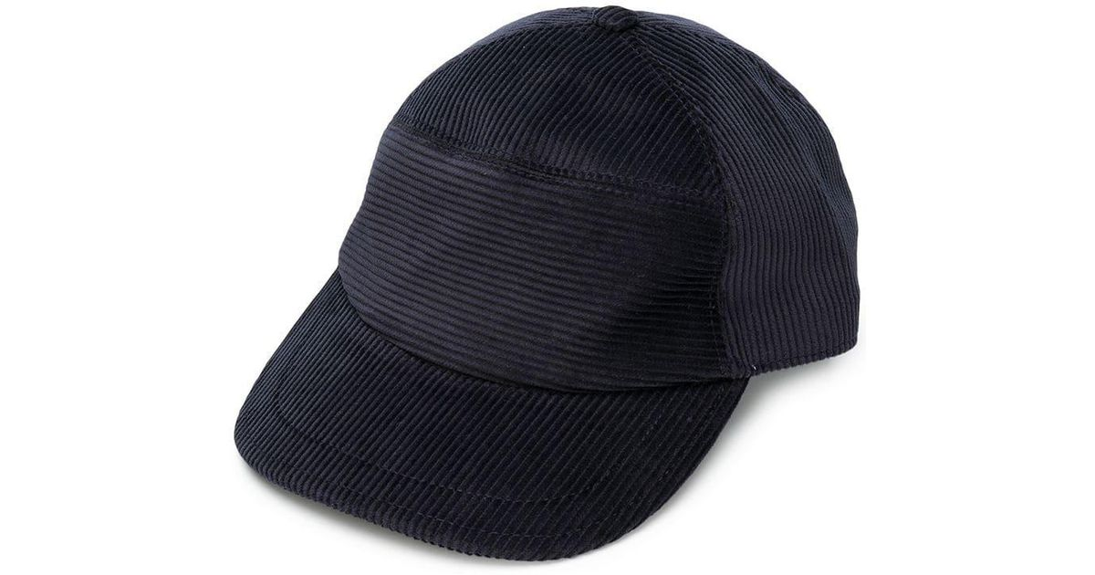 54431c54ef7 Eleventy Perfectly Fitted Cap in Blue for Men - Lyst