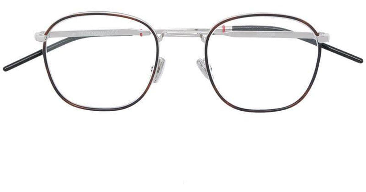 53ee4e0341 Dior Dior 0226 Ekp Glasses in Brown for Men - Lyst