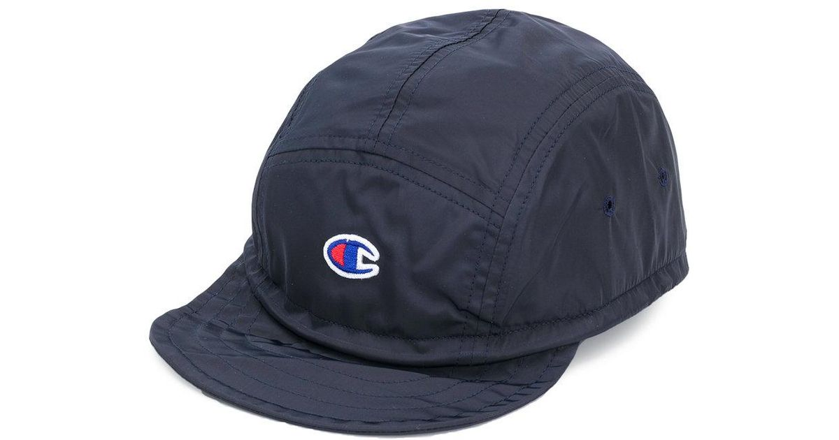 6ca3a8b662eec Lyst - Champion Embroidered Logo Cap in Blue for Men