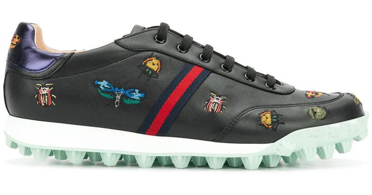 Yell low-top embroidered sneakers Gucci 7WH2OZ