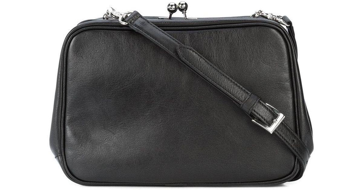 clasp crossbody bag - Black Yohji Yamamoto 4LsYITxLZk