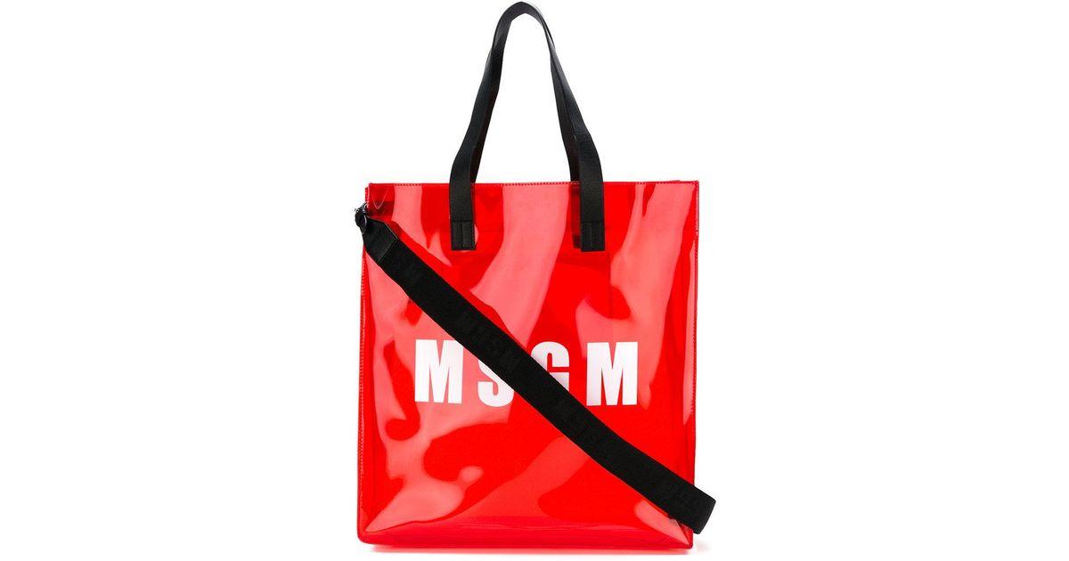 Msgm Sac porté épaule à logo 5mrGQz