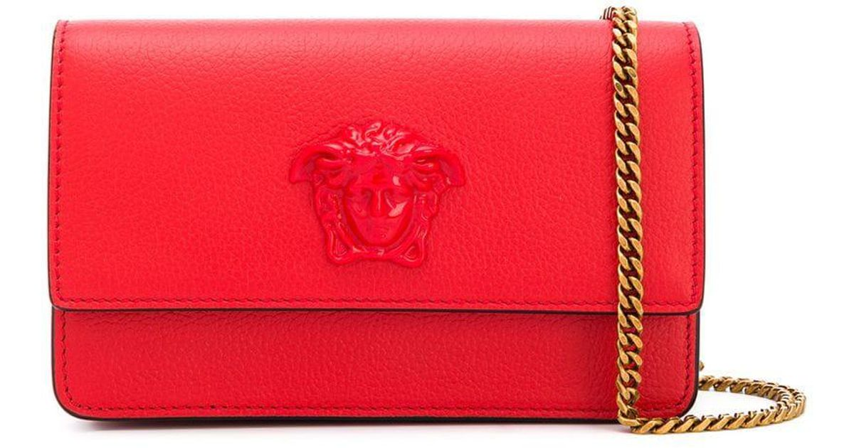 16dcbab23b16 Lyst - Versace Palazzo Cross Body Bag in Red - Save 9.090909090909093%