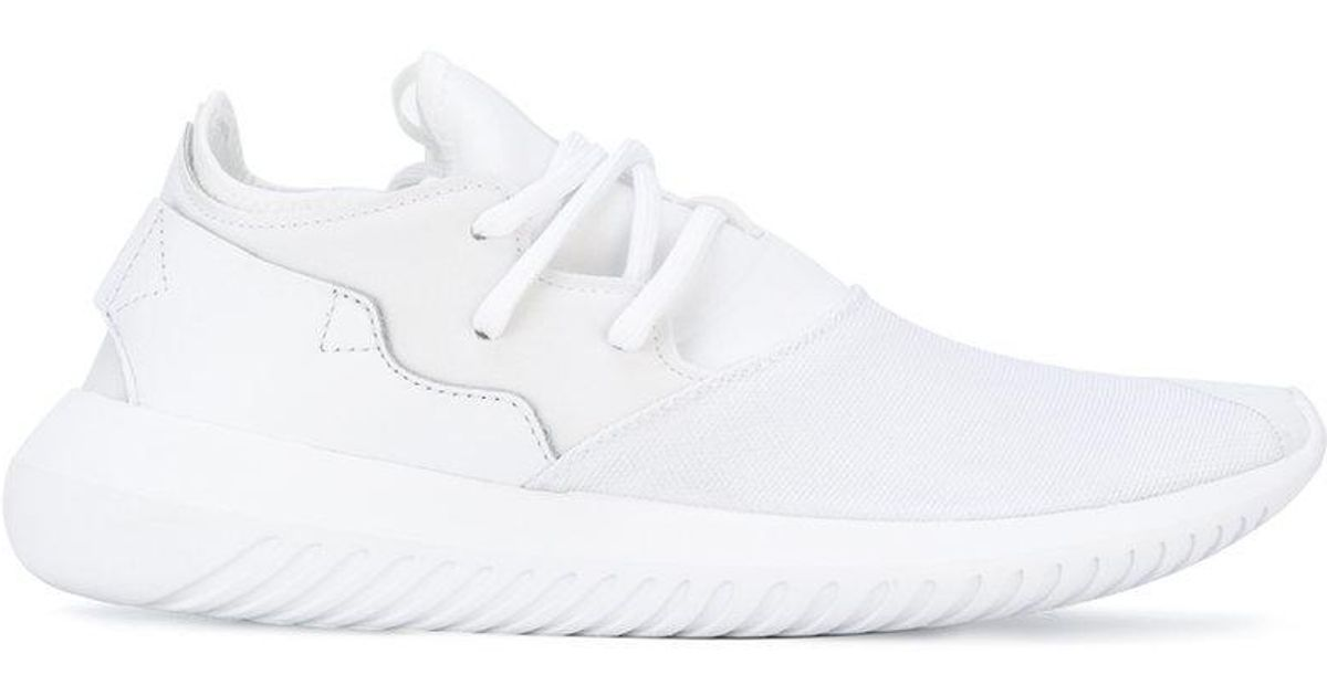 the best attitude 3c83c b4a5b Lyst - Adidas Originals Tubular Entrap W Sneakers in White