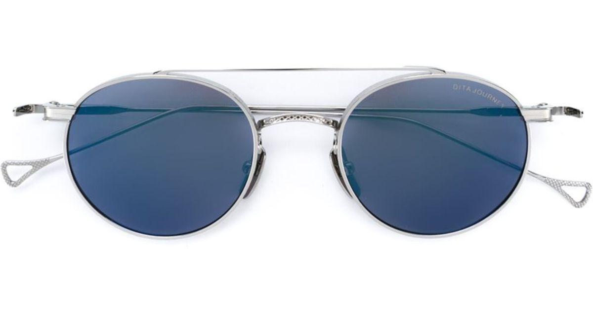 bdf54bcfbc0 Lyst - Dita Eyewear  journey  Sunglasses in Blue