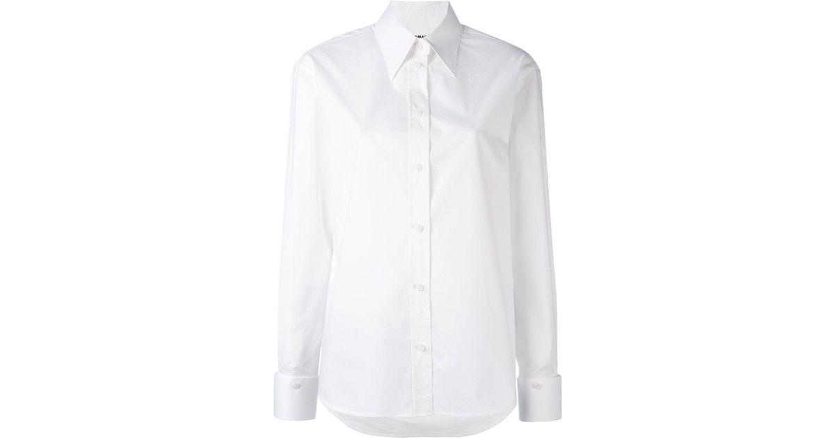 pointed collar shirt - Black Maison Martin Margiela Cheap Fashionable Best Prices Cheap Online 8ln2Tjn