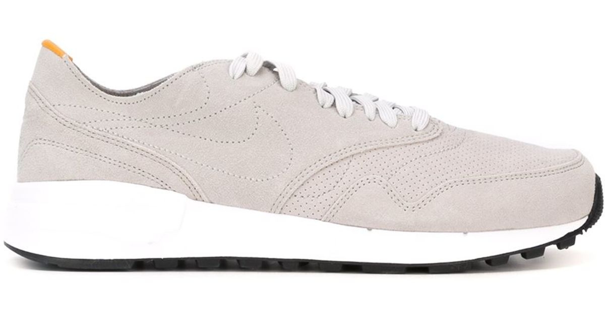 7e76335b3d Nike Air Odyssey Dcnstrct Suede and Leather Sneakers in Gray for Men - Lyst