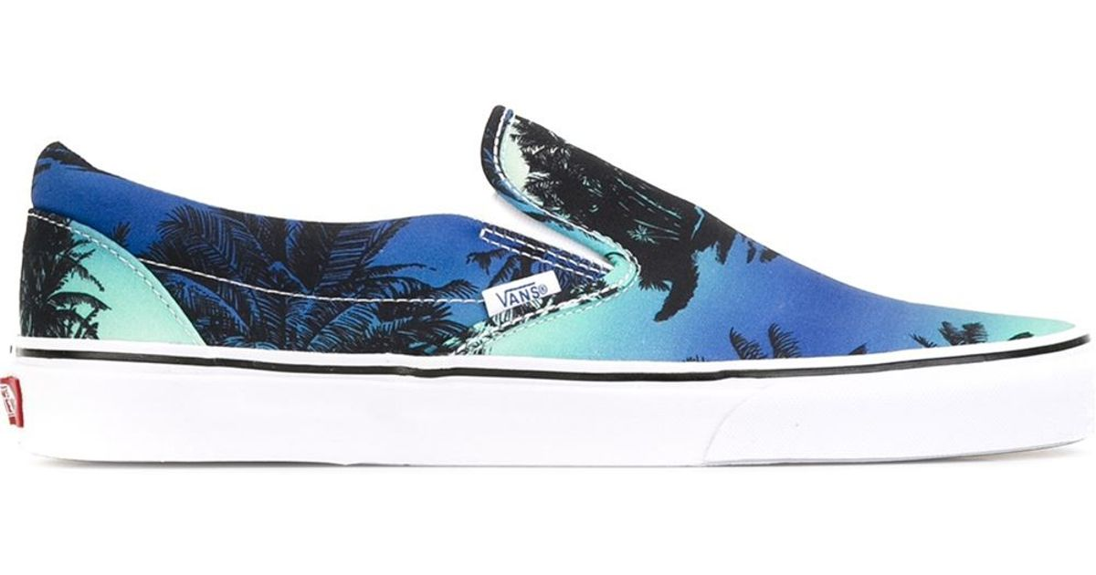 17a0330d4f1 Vans  van Doren  Slip-on Sneakers in Blue for Men - Lyst
