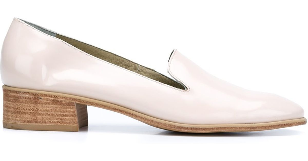 63d668ff9bc Lyst - Rachel Comey Low Pointed Toe Pumps in Natural