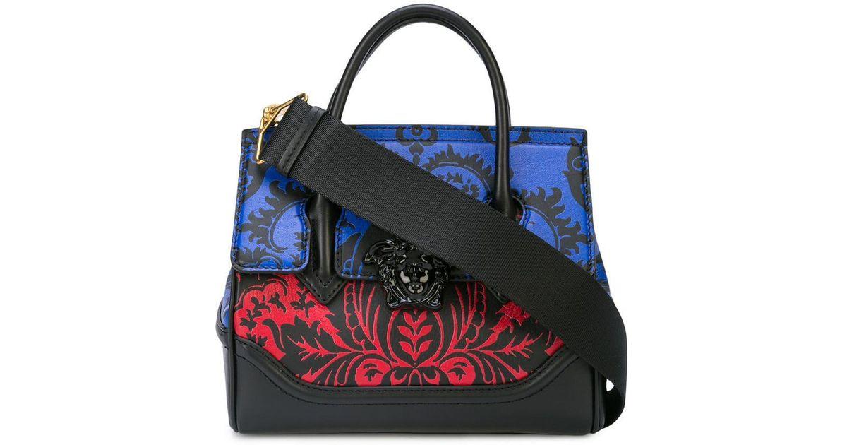 54fd551a79 Versace Baroque Print Palazzo Empire Bag in Black - Lyst