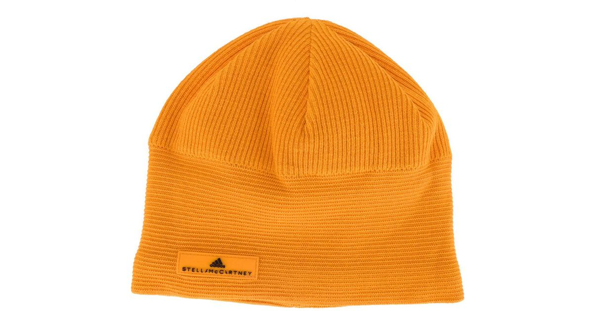 2fb745e3889e2 Adidas By Stella Mccartney Sports Beanie in Orange for Men - Lyst