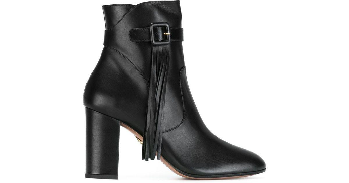 Aquazzura 'Cristina' ankle boots oxihcg
