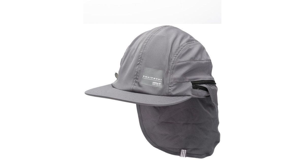 adidas Eqt Four Panel Cap in Gray for Men - Lyst 914e5c1381be