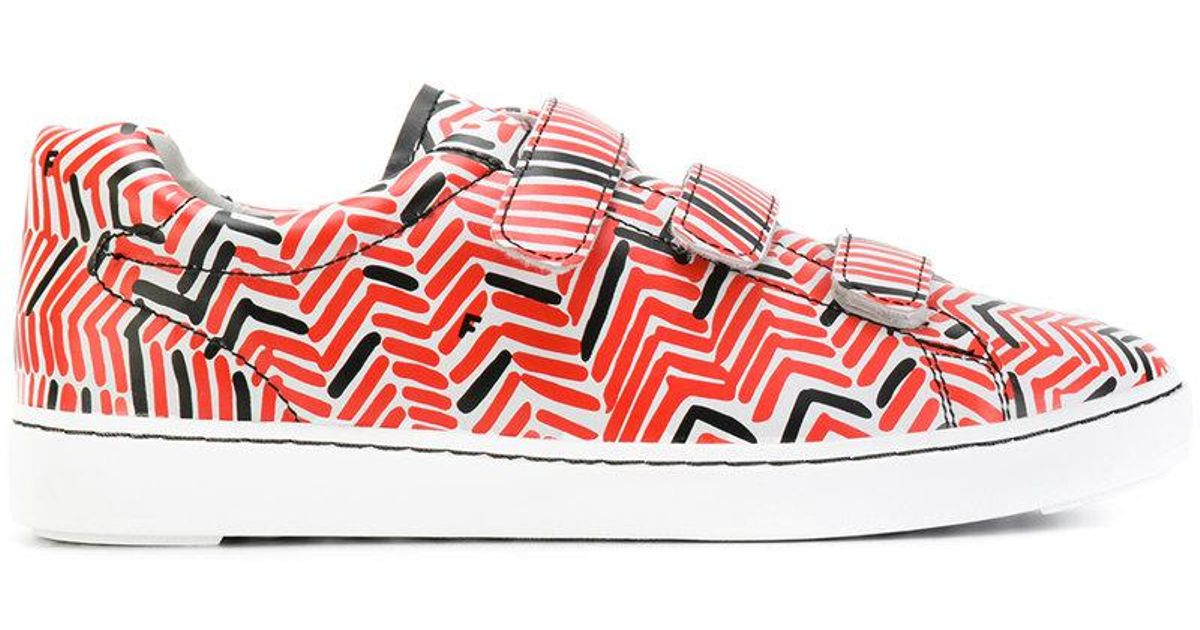patterned touch strap sneakers - Red Ash 69jRICcuxI