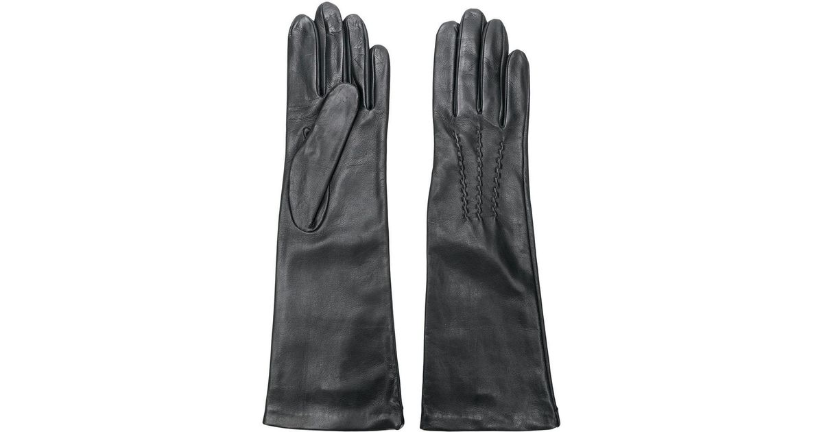 6174358a2b5d6 Gala Long Gloves in Gray - Lyst