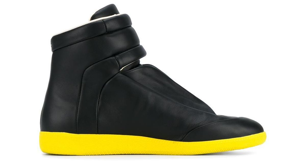 Future hi-top sneakers - Black Maison Martin Margiela CIl3vx27J