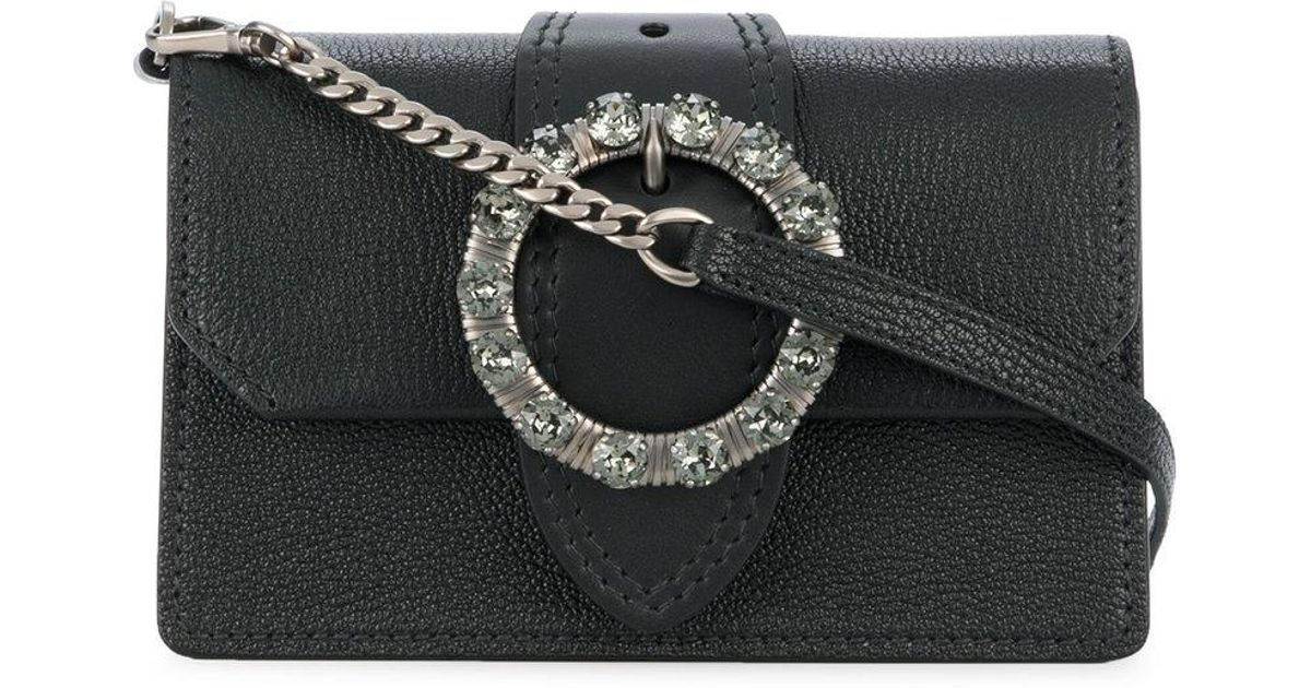 embellished buckle mini bag - Black Miu Miu rFnNNd