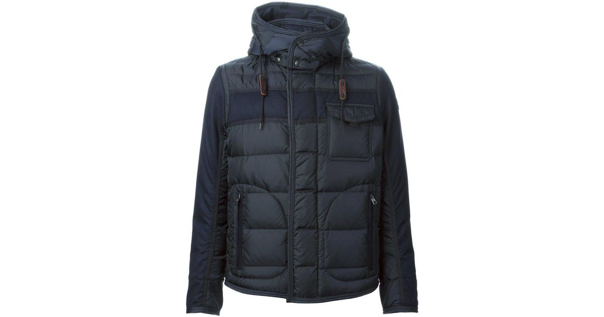Lyst - Moncler Ryan Padded Jacket in Blue for Men - Save 18.461538461538467%