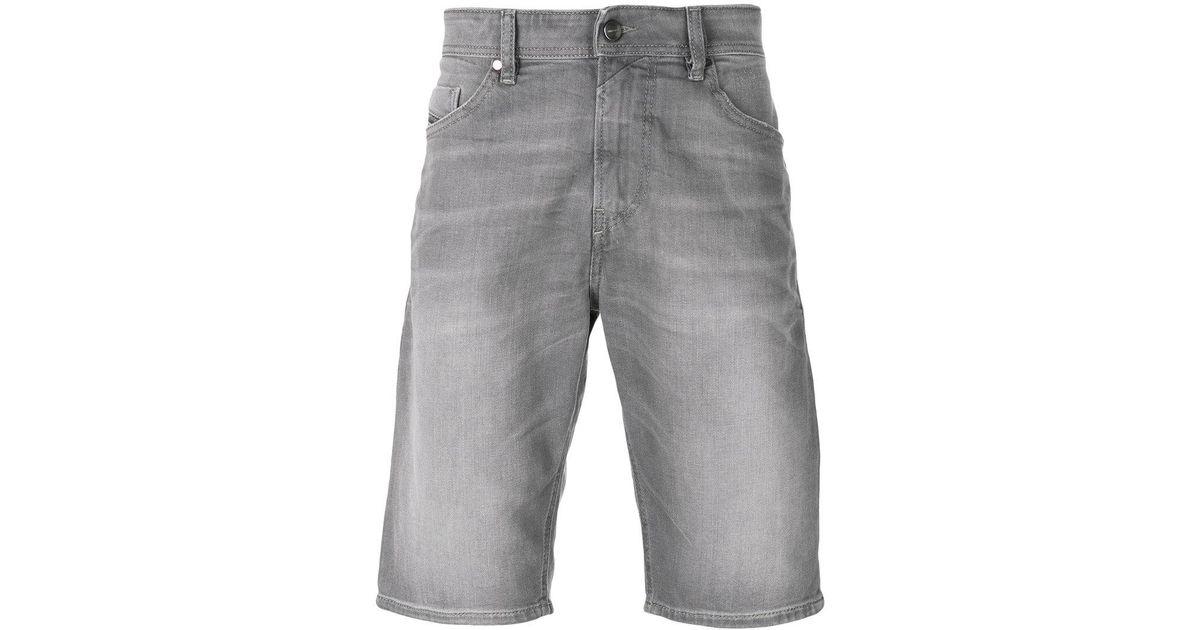 faded denim jeans - Grey Diesel ZisT8