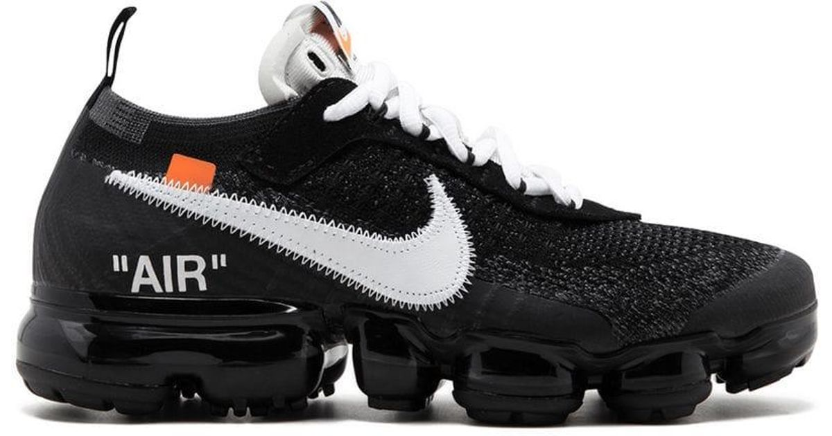 987dc82cb18 Lyst - Nike X Off-white The 10  Air Vapormax Fk in Black for Men