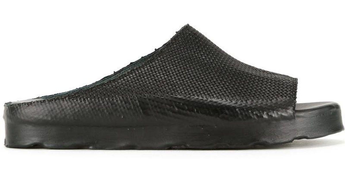 woven slidder sandals - Black Oxs Rubber Soul u3fps