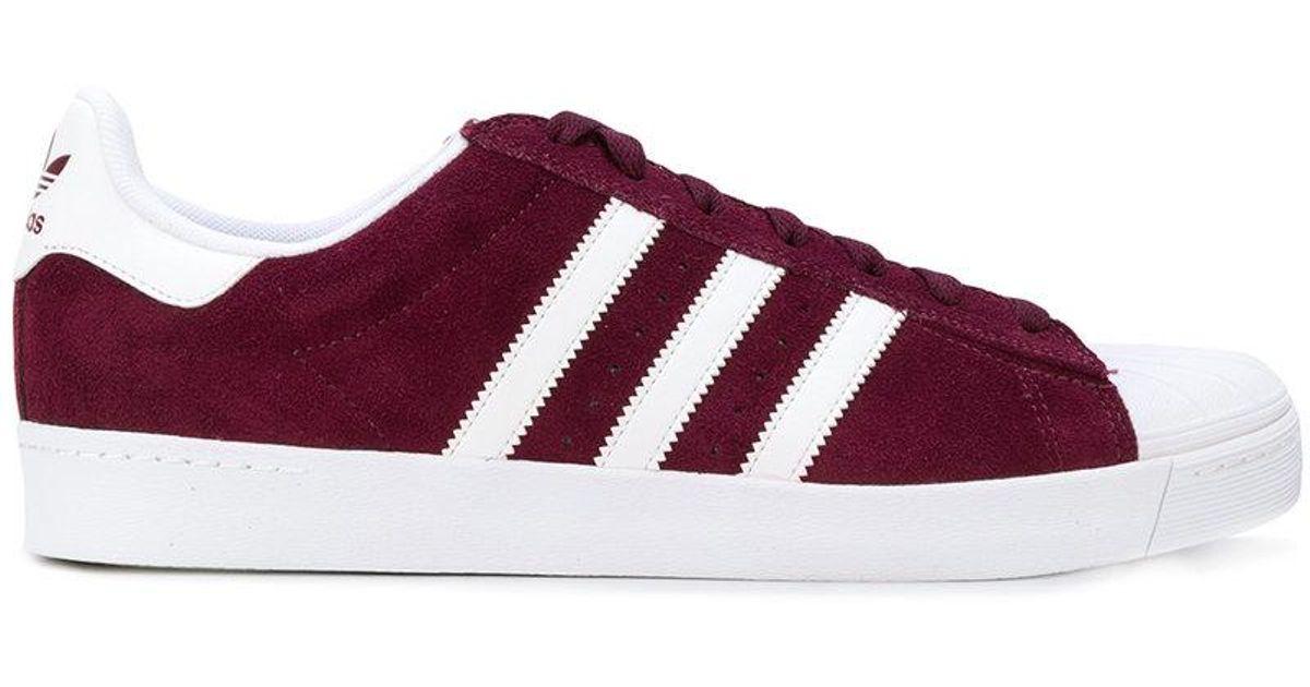 0ca04218f901 Lyst - Adidas Sneakers   Originals Superstar Vulc Adv  in Red