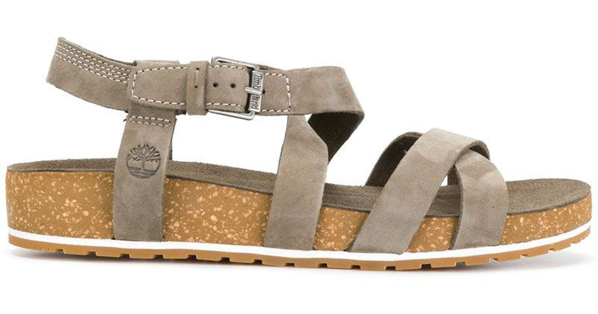 Timberland Gray Malibu Waves Sandals Lyst