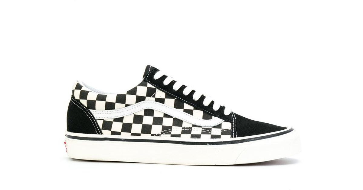 f8e0497a69 Vans Primary Check Old Skool Sneakers in White for Men - Lyst