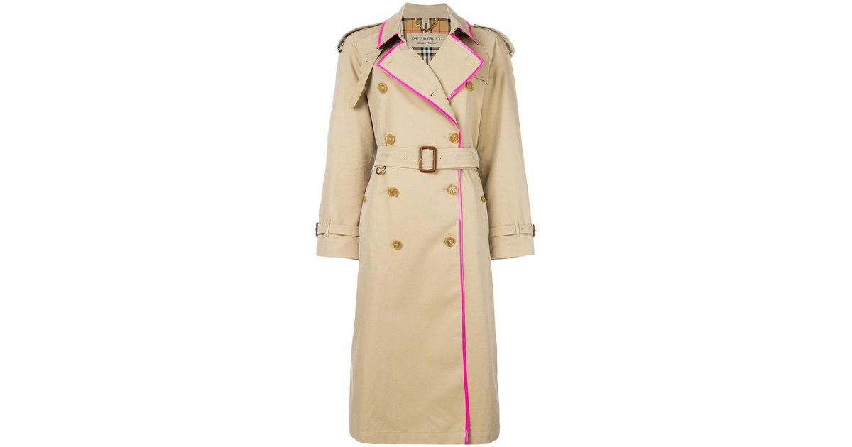 Lyst - Burberry East Heat Trench Coat in Brown d74eb3da735