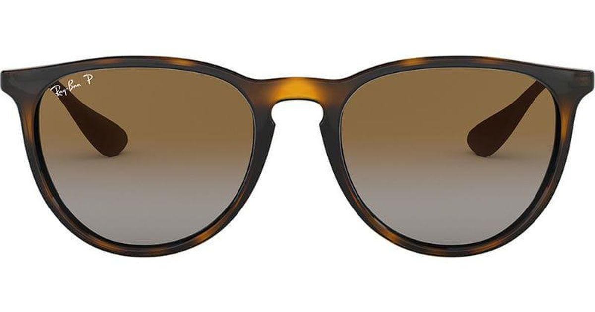 88f883c404f46c Ray-Ban Erika Classic Sunglasses in Brown - Lyst