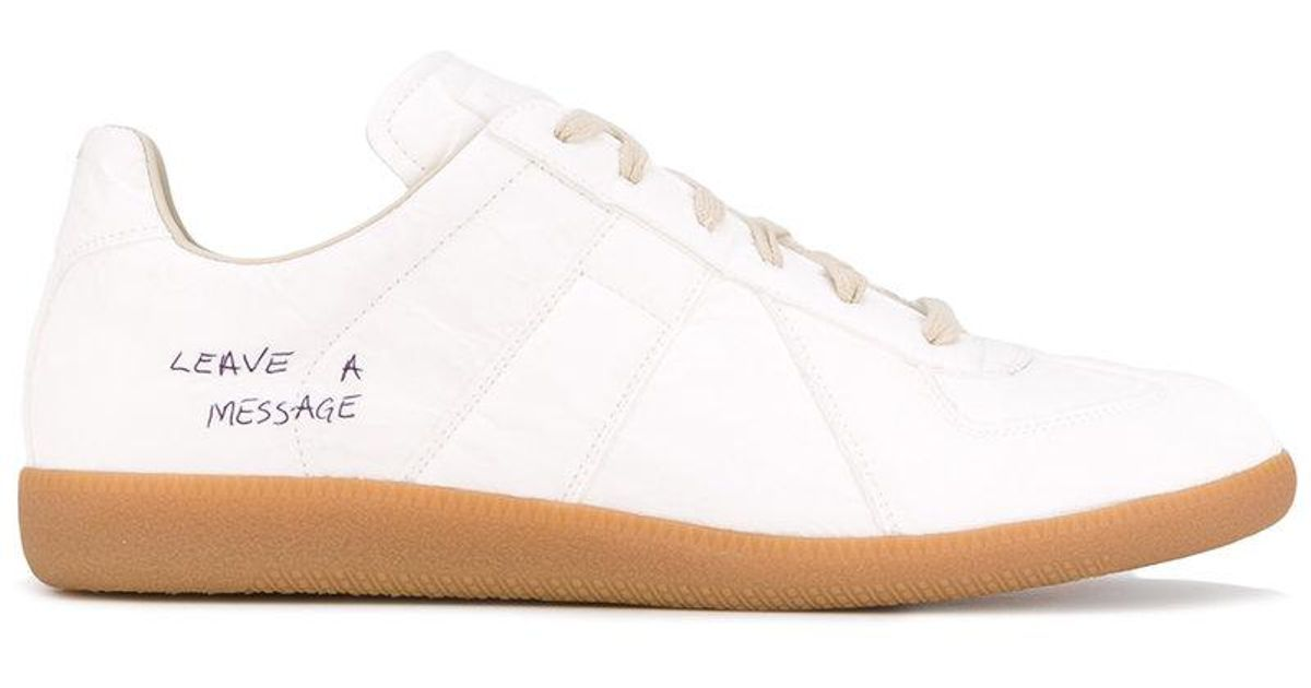 Leave A Message sneakers - White Maison Martin Margiela YPkFy6JZw