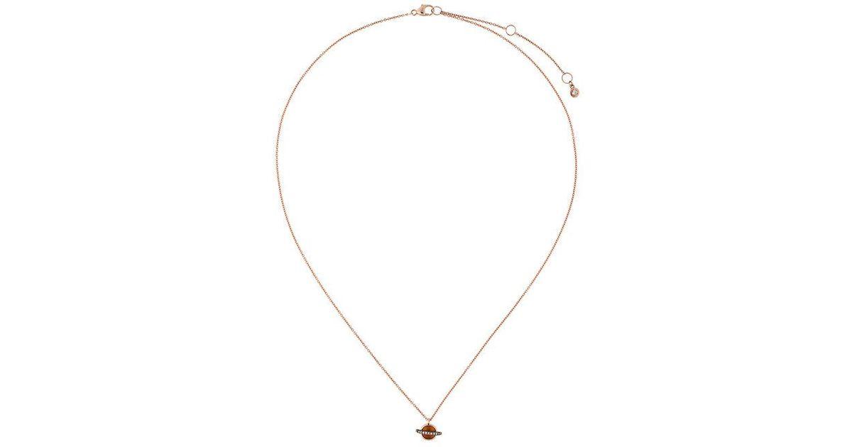 Astley Clarke mini Saturn pendant - Metallic c98l1G