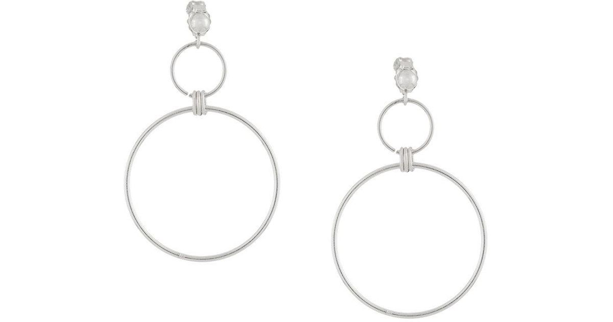 PetiteGrand Midsummer earrings - Metallic opHYX