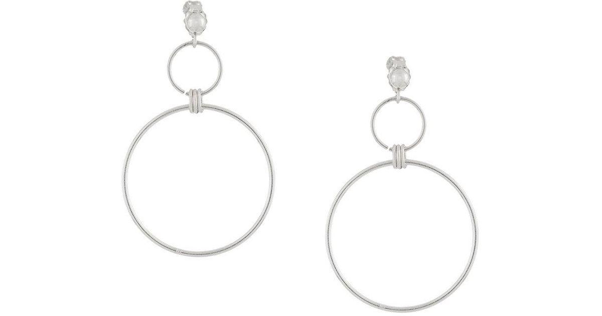 PetiteGrand Midsummer earrings - Metallic d0GwaZn